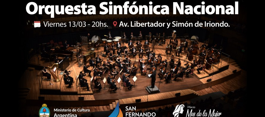 La Orquesta Sinfónica Nacional se presentará el viernes en Libertador y Simón de Iriondo