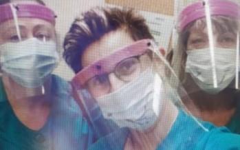 Fabrican máscaras con impresoras 3D para donar al Hospital Cordero