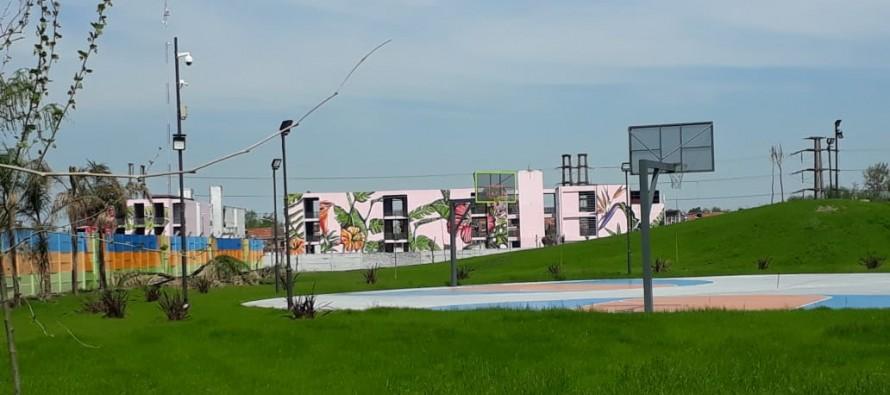 ¿Cómo se gestó el mural que abraza la ampliación del Parque del Bicentenario?