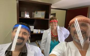 El Hospital Cordero agradeció a las personas que trabajan solidariamente para aportar insumos frente a la pandemia