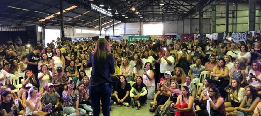 María Eugenia Vidal reapareció en un acto de mujeres en nuestra ciudad y compartió el protagonismo con Patricia Bullrich