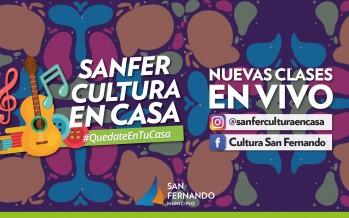 Clases y actividades en vivo por Instagram y Facebook a cargo de profesores de los talleres culturales municipales