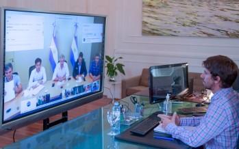 Coronavirus: Juan Andreotti mantuvo una videoconferencia con el Presidente y los intendentes del Conurbano