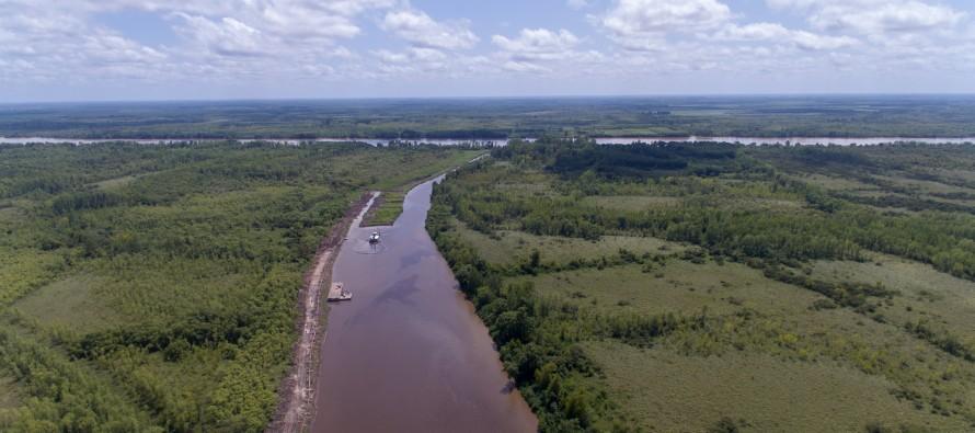 """""""Tenemos en marcha proyectos y obras de saneamiento para el río Luján y el Reconquista"""""""