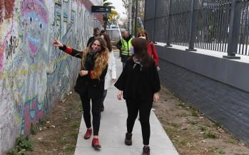 Intervenciones artísticas con perspectiva de género en estaciones de trenes de nuestra ciudad