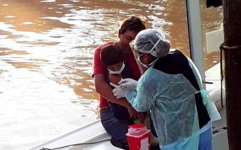 Continúan los controles médicos y vacunación muelle por muelle