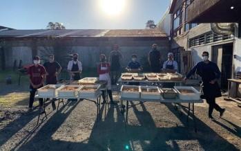 El Virreyes Rugby Club entrega bolsones de alimentos en distintos barrios de nuestra ciudad