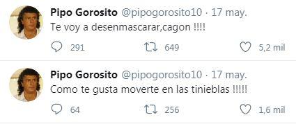 Captura tuits de Pipo