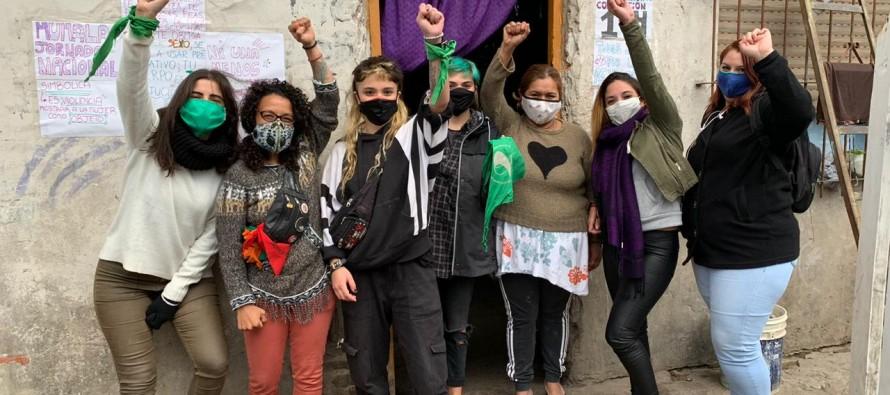 Ni Una Menos: Mumalá San Fernando realizó una olla popular en el barrio Hardoy