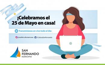 Propuestas culturales municipales para celebrar el 25 de Mayo