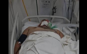 Villa Jardín: un comerciante fue herido de bala cuando intentó revisar un secarropas abandonado en la calle