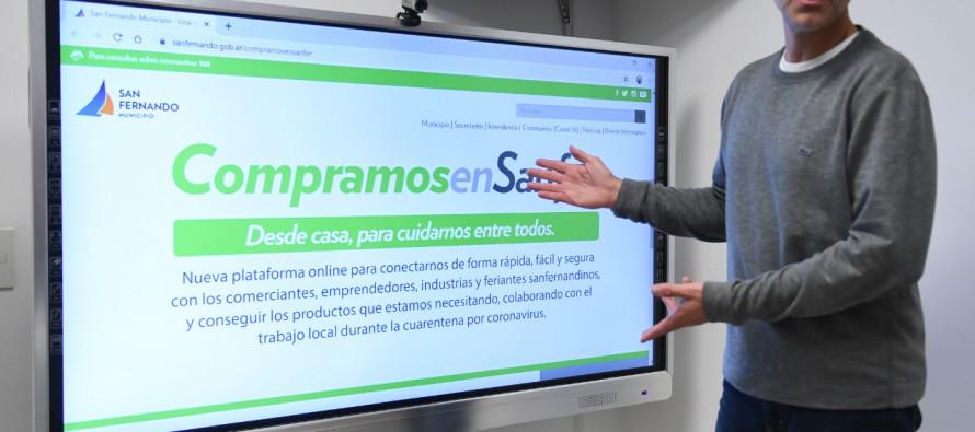 """""""Compramos en Sanfer"""" tuvo más de 70.000 visitas e incorporó más comercios"""