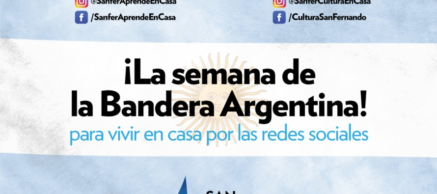 Actividades para festejar la Semana de la Bandera Argentina