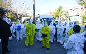 Operativos de detección de coronavirus en Villa Hall y Don Mariano