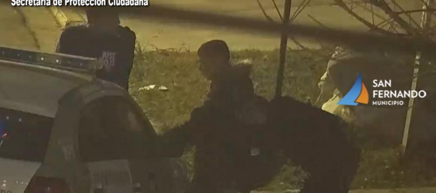Dos hombres fueron detectados mientras intentaban robar un domicilio en Virreyes