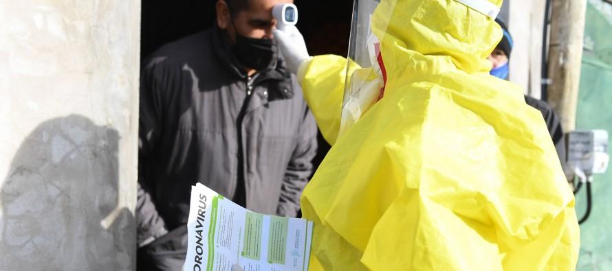 Coronavirus: operativo en Villa del Carmen