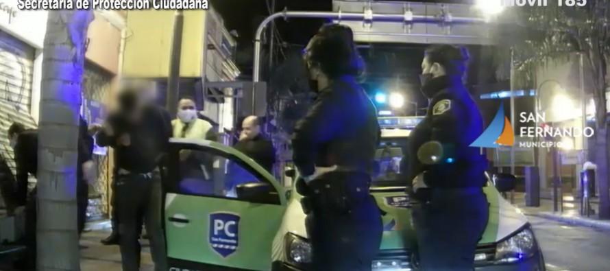 Dos detenidos en Avellaneda y Belgrano por intentar robar un local comercial
