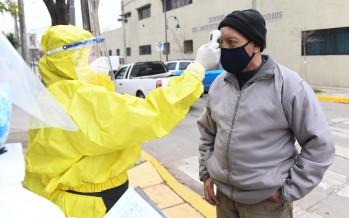 Operativos para detectar casos sospechosos de coronavirus en los barrios San Rafael y San Francisco