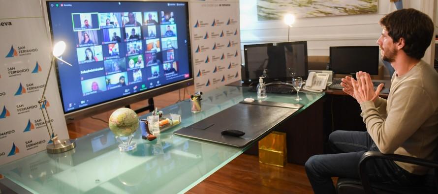 Por videoconferencia 50 instituciones de nuestra ciudad celebraron el Día del Fomentista