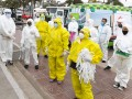 Operativos de detección de coronavirus en el barrio Hardoy