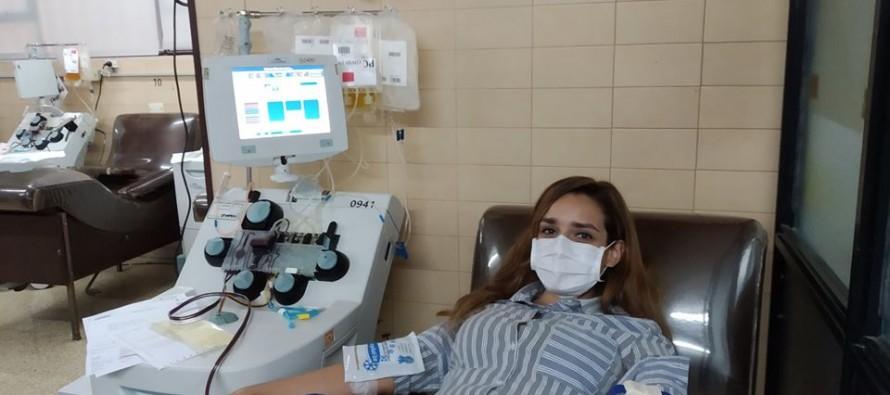 Romina Bressan, la médica de Infico que fue la primera donante de plasma de nuestra ciudad