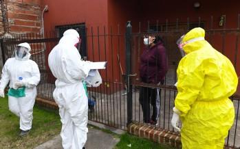Operativo de detección de coronavirus en el barrio San Ginés