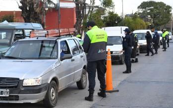 Refuerzan los operativos de seguridad en nuestra ciudad para controlar la nueva fase de la cuarentena