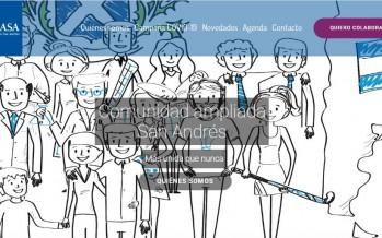 La Comunidad Ampliada San Andrés lanzó una página web en donde ofrece charlas y actividades gratuitas