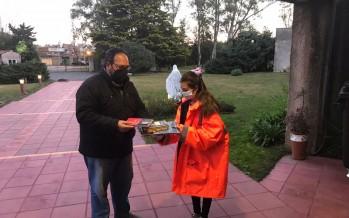 La Biblioteca Murcho prestó libros a uno de los centros de aislamiento de pacientes con Covid-19