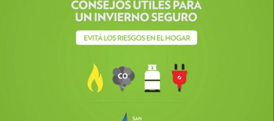 Invierno Seguro: precauciones para evitar los accidentes en casa