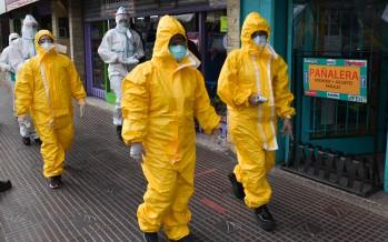 Operativos de detección de coronavirus en centros comerciales y barrios de nuestra ciudad