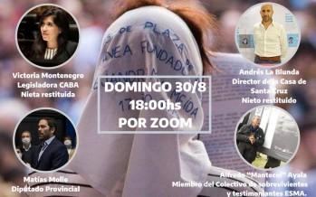 Encuentro virtual por el Día Internacional del Detenido Desaparecido