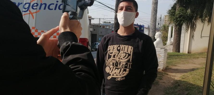 Cristian Cejas, el policía de nuestra ciudad que promueve la donación de plasma