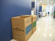 Convenio entre el Municipio y el Hospital Garrahan por reciclaje de papel y tapitas de plástico