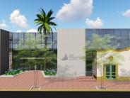 El Hospital Oftalmológico Municipal se amplía e incluye la fachada histórica de Lavalle y Necochea