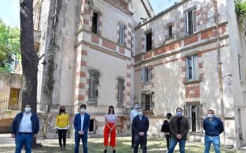 El Municipio firmó un convenio con AABE para restaurar el histórico Palacio Otamendi
