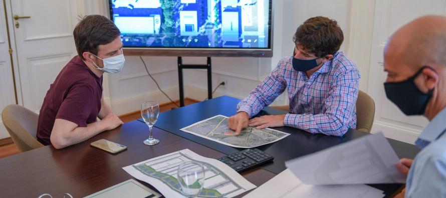 Reunión de trabajo sobre el futuro parque industrial de nuestra ciudad
