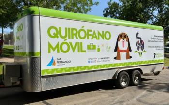 Zoonosis ofrecerá turnos online y volverá a recorrer los barrios con el quirófano móvil