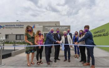 Virreyes: se inauguró el Complejo Carolina Aló que posee la Fiscalía y Comisaría de la Mujer y la Familia