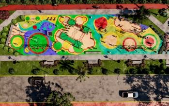 Cómo será el parque que se construye donde se entubó el zanjón Miguel Cané