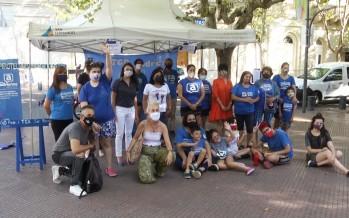 Jornada de concientización sobre el uso de pirotecnia en la Plaza Mitre