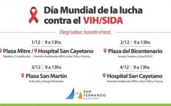 Actividades en nuestra ciudad por el Día Mundial de la Lucha contra el VIH