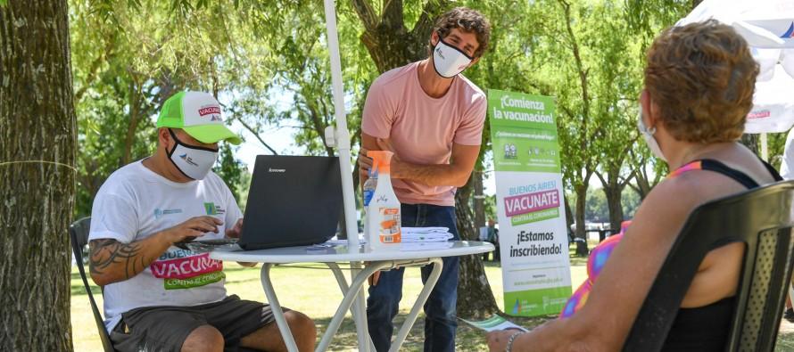 El Municipio registra a los mayores de 60 para aplicarse la vacuna contra el Covid-19