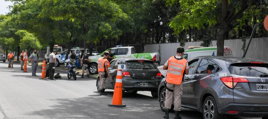 Operativos de seguridad y tránsito en los accesos de nuestra ciudad