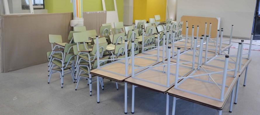 Nuevo mobiliario para escuelas de nuestra ciudad
