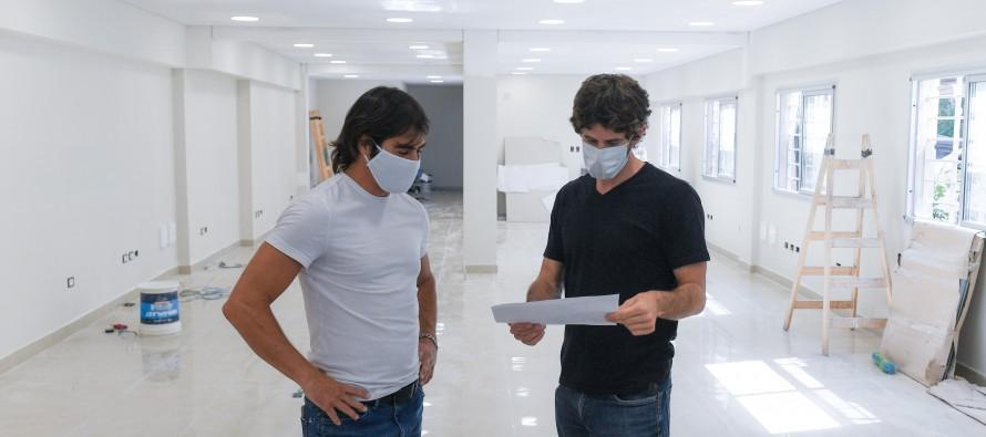 Avanza la obra del nuevo Centro de Atención Vecinal