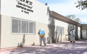 Sanitización en escuelas de nuestra ciudad previo al inicio de clases presenciales