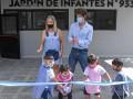 Se inauguró el renovado Jardín Nº933 del barrio Amor y Corazón