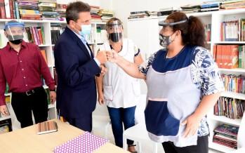 """Sergio Massa visitó nuestra ciudad: """"Vacunar y recuperar el ingreso de los argentinos son las prioridades"""""""