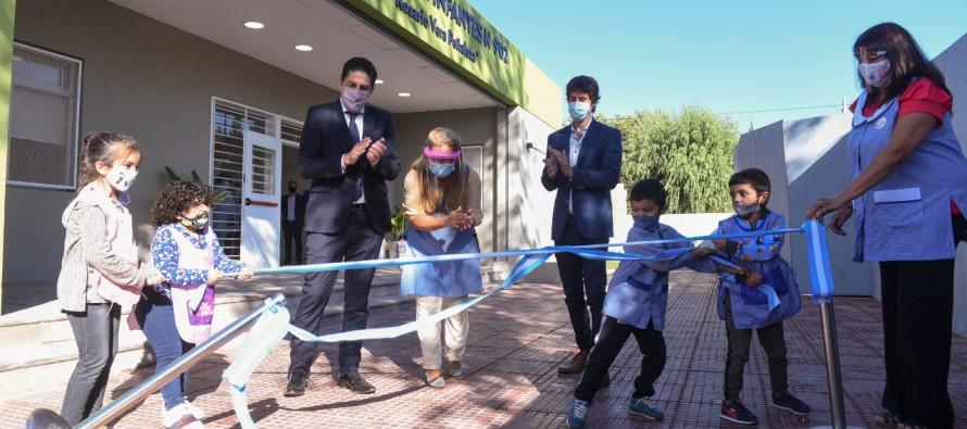Se inauguró el Jardín de Infantes N° 902 del barrio San Jorge